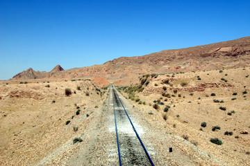 vue d'un train touristique