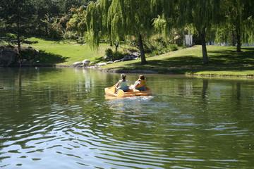 paddleboat fun