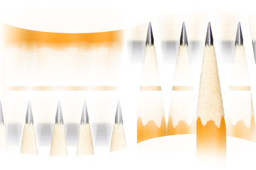 school of pencils