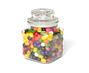 candies in jar