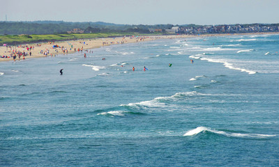 beach in maine