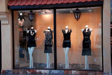 boutique window