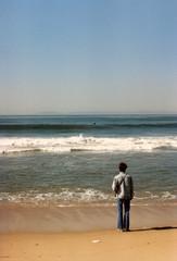 boy on a beach 1