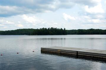 lake and dock
