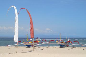 balinesischer strand bei sanur