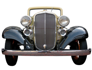 classic car isolated