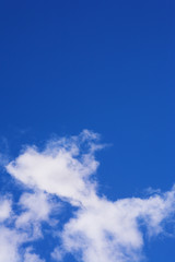 blue sky and clouds #4
