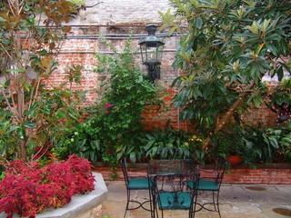 Wall Mural - courtyard