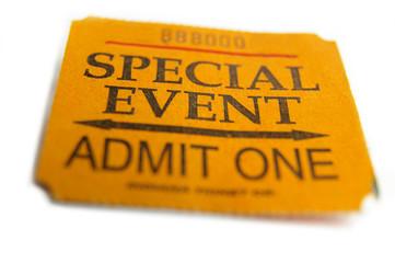 big ticket event