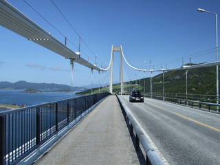 big suspension bridge in norway
