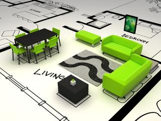 interior house - livingroom