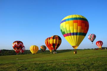 balloon landing field