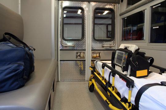 ambulance interior b