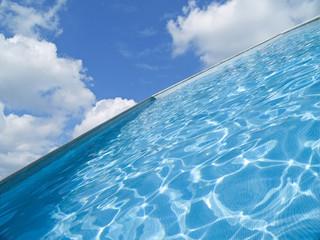 piscina con vistas al paraiso