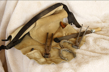 horseshoeing tools