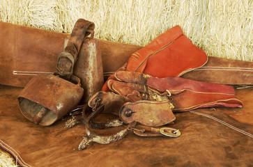 spurs, gloves and bells