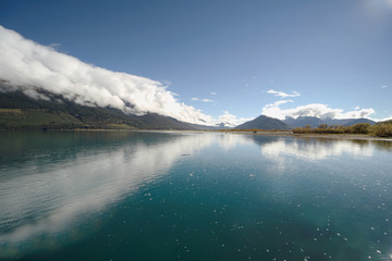 magnificent nz lake