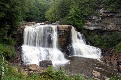 Fototapete black waterfalls 2