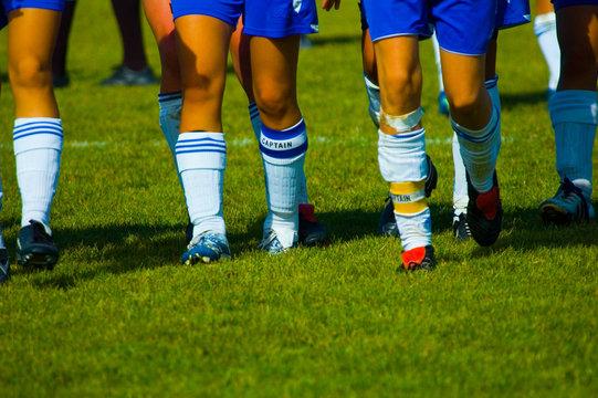 girls soccer captains