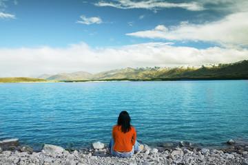 quiet lake in nz