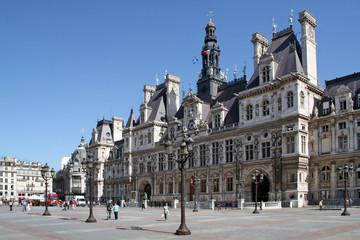 In de dag Parijs mairie de paris