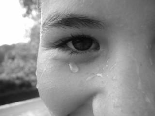 larme à l'oeil