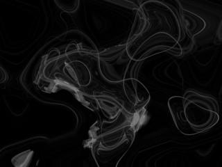 smoke over black