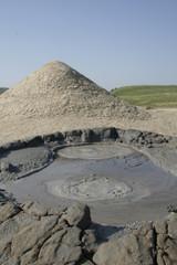 muddy volcanos landscape vii