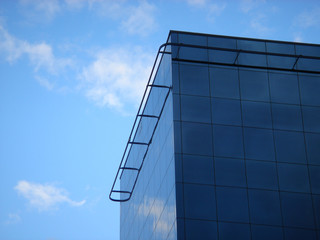 vitreous building in the sky