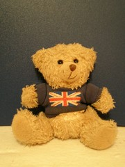 english traditional teddy bear