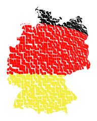 deutschlandkarte - freigestellt 11
