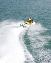 jet ski wake