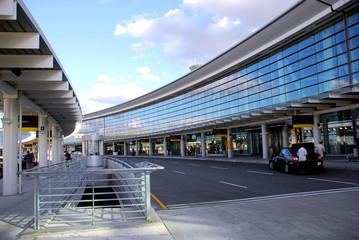 Fotobehang Luchthaven terminal
