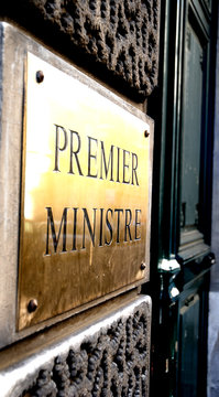 premier ministre - entrée de la république
