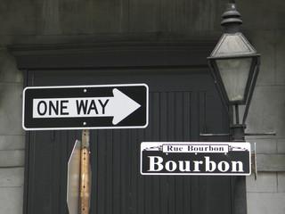 one way bourbon
