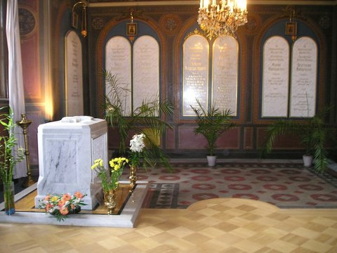 tomb of nicholas ii and family