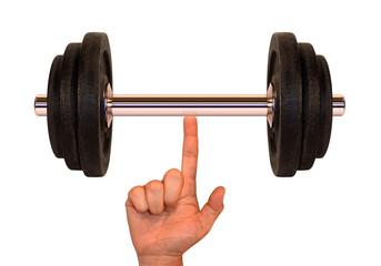 weight (super finger)