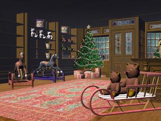 little christmas shop.