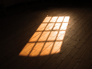 sunlight from window