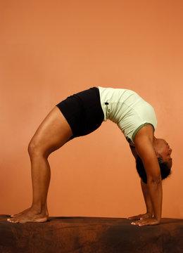yoga pose spinal bend