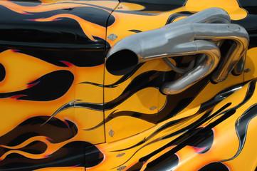 Wall Mural - flames