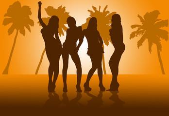 orange beach girls