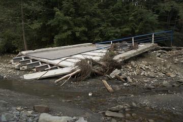 flood - beskid - poland(wielka puszcza)