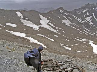 0536-tempête en montagne