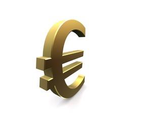 goldenes eurozeichen