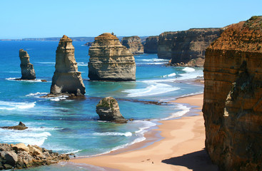 Printed kitchen splashbacks Australia 12 apostles