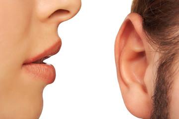 talking gently