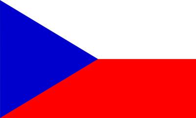 tschechien czechia fahne flag