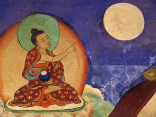buddhistische wandmalerei
