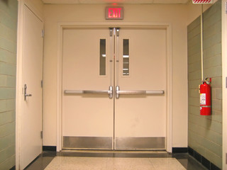 school emergency exit